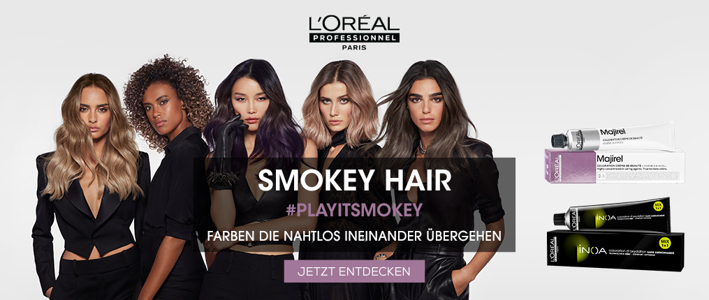 SMOKEY HAIR | L'Oréal Partner Shop